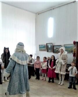благотворительный праздник для детей в Доме литераторов 08.01 2018 -