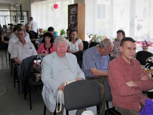писатели волгограда Александ Цуканов, Анатолий Егин, Борис Гучков на шолоховских чтениях в Вешенской