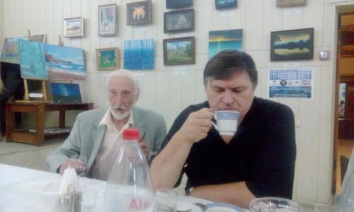 поэтический вечер в Доме литераторов имени Луконина